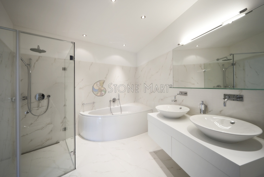 Remarkable White Marble Master Bathrooms 894 x 600 · 226 kB · jpeg
