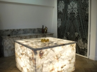 Crystal Quartz countertops