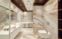 Bathroom with Onyx